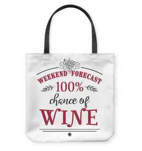 Weekend Forecast:  100% Chance of WINE