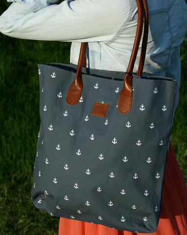 Canvass tote bag - Anchor