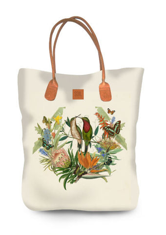 Canvass tote bag Fynbos