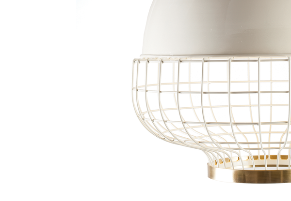 Metal Suspension Lamp Magnolia I