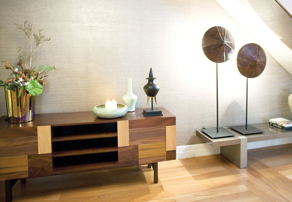 Wooden sideboard Form