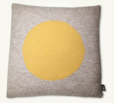 Cushion cover Big Yellow