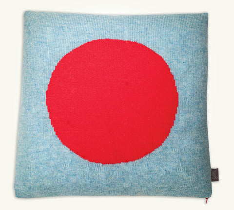 Cushion cover Blue Red