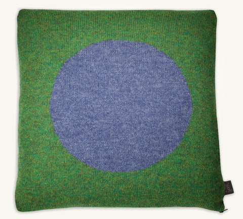 Cushion cover Green Purple