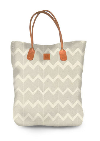 Canvass tote bag Zig Zag