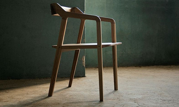 Dining Chair Kundera in Walnut