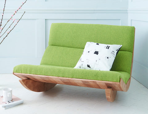 Rocking Chair Rocker in Lime Green