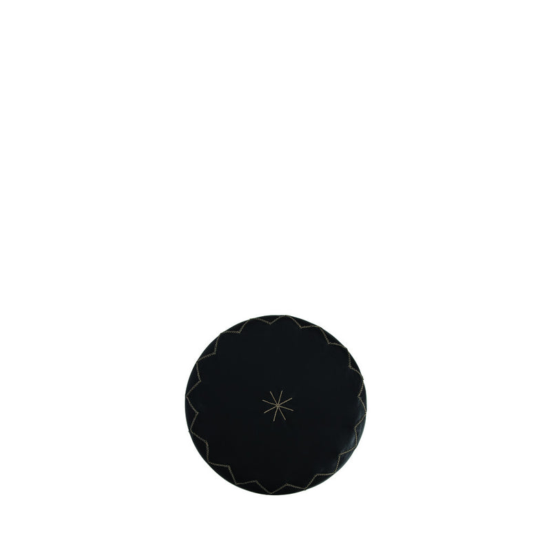 Pouf New Casablanca S Cervo Black