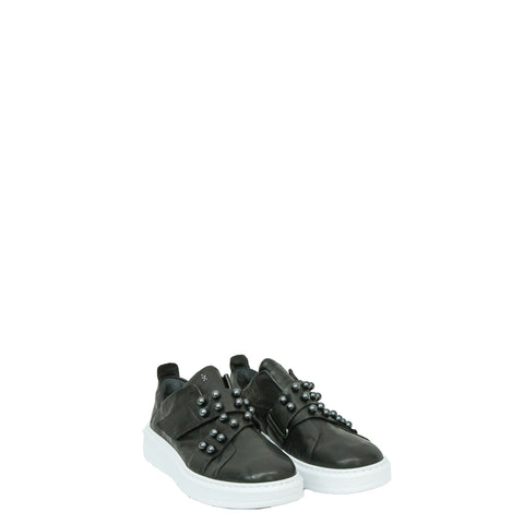 Sneaker Perle Metal Wash Nero