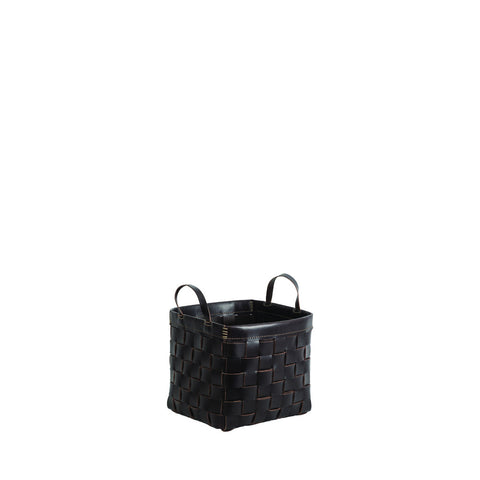 Cesta Quadrata Square Basket Brown