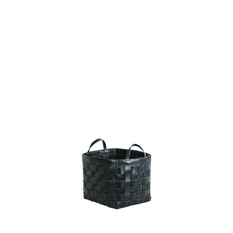 Cesta Quadrata Square Basket Black