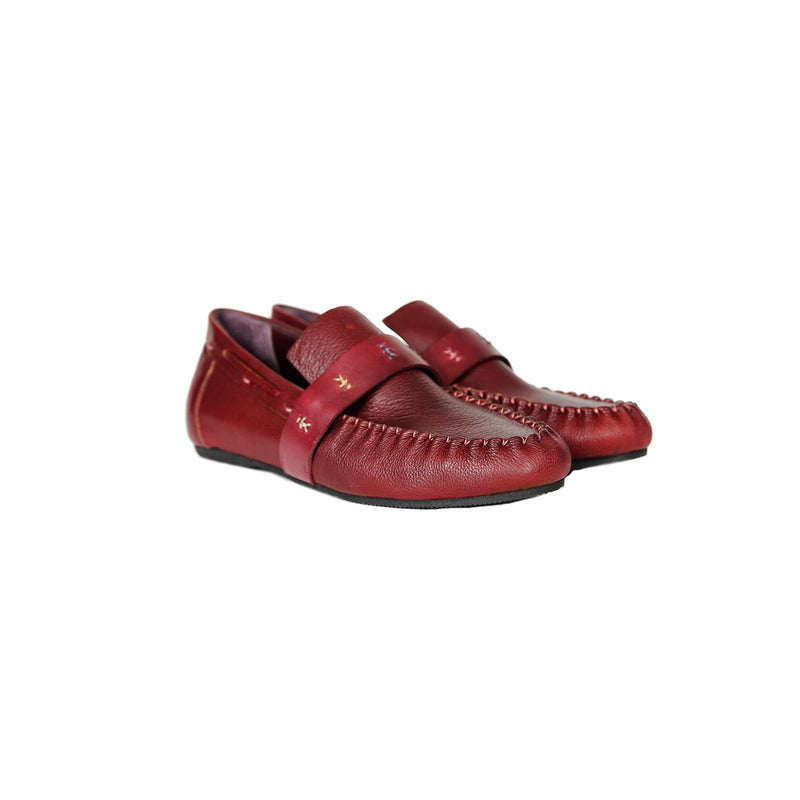 Car Shoe Omini Messico Chianti