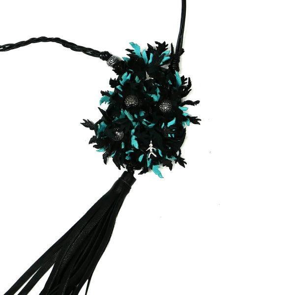 Necklace Bouquet Ranch Nero