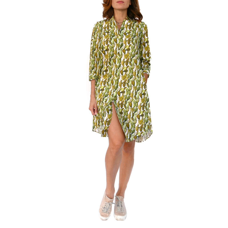 Cactus Cotton Midi Dress