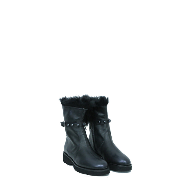 Boot Fur Perle Metal Sport Inchiostro