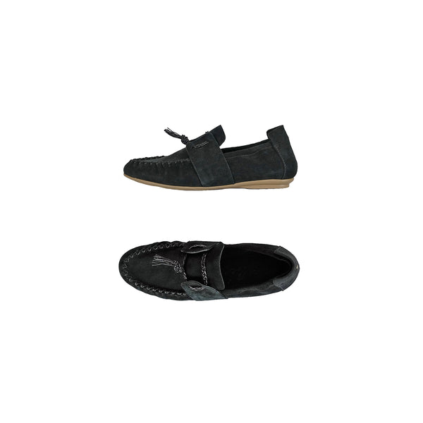 Car Shoe Camoscio Nero
