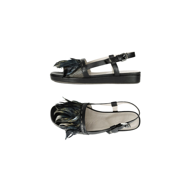 Feather Sandal Messico Nero