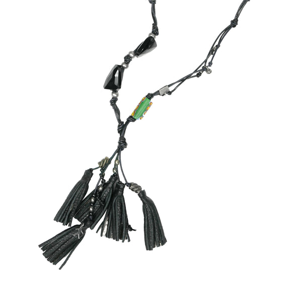 Necklace Luanda Cervo Nero