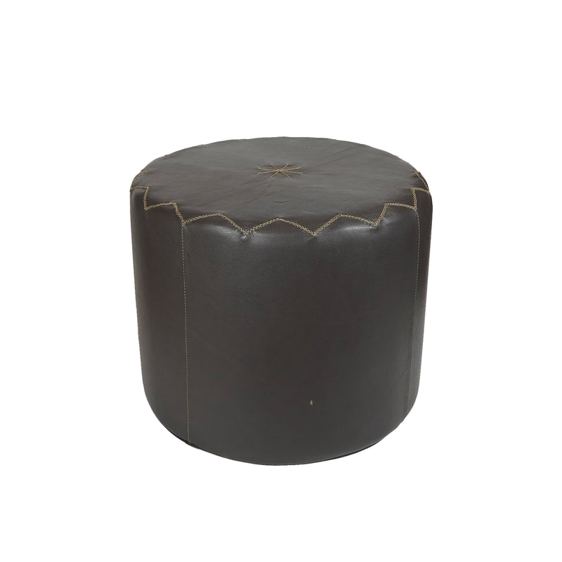 Pouf Dubai L Cervo Brown