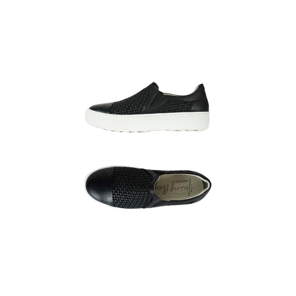 Slip On Intreccio Soft Nero