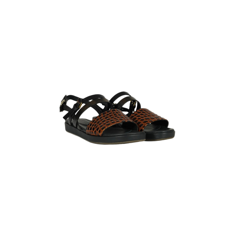 Sandal Printed Croco Cotto