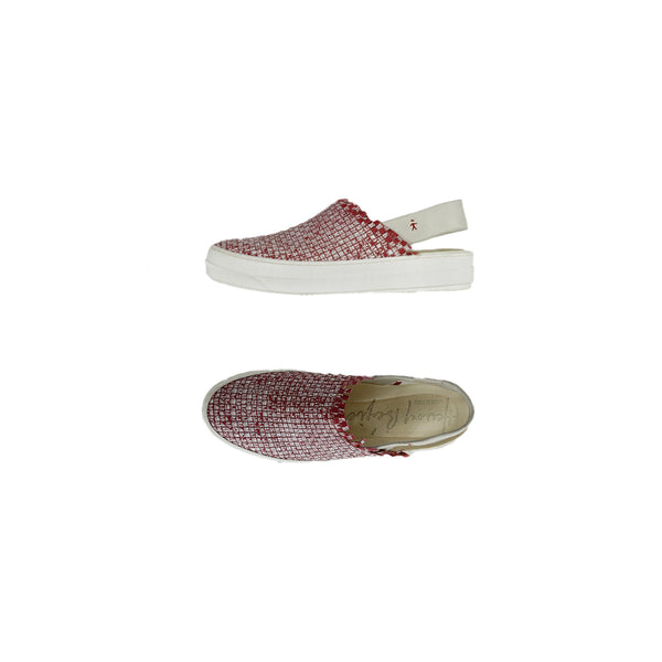 Slip On Chanel Intreccio Maltinto Rosso