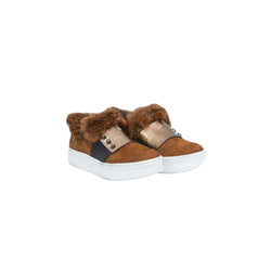 Slip-On Fascia Fur Lapin/Nabuck Cotto