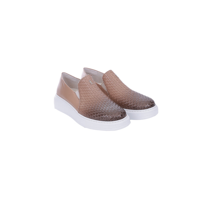 Slip On Intreccio Sfumato Fard
