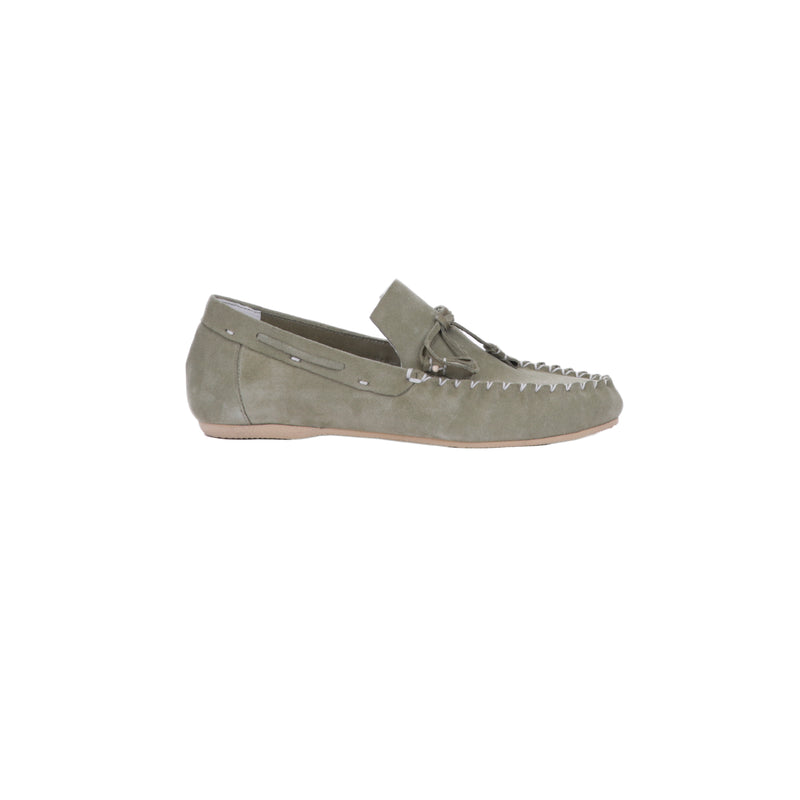 Car Shoe Fiocco Suede Salvia
