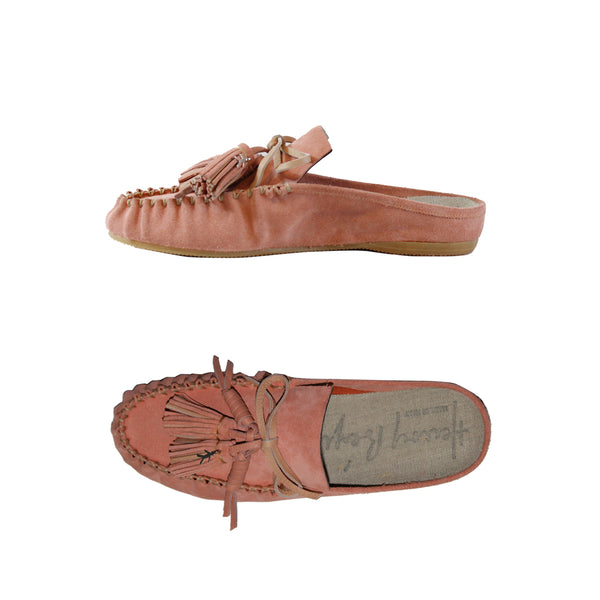 Car Shoe Mules Suede Confetto