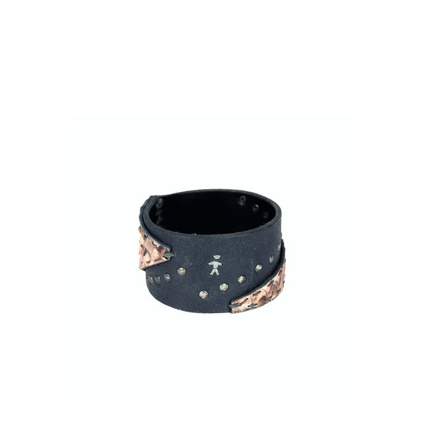 Bangle Printed Python Nude