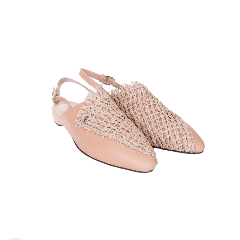 Chanel Shoes Intreccio Rete Fard