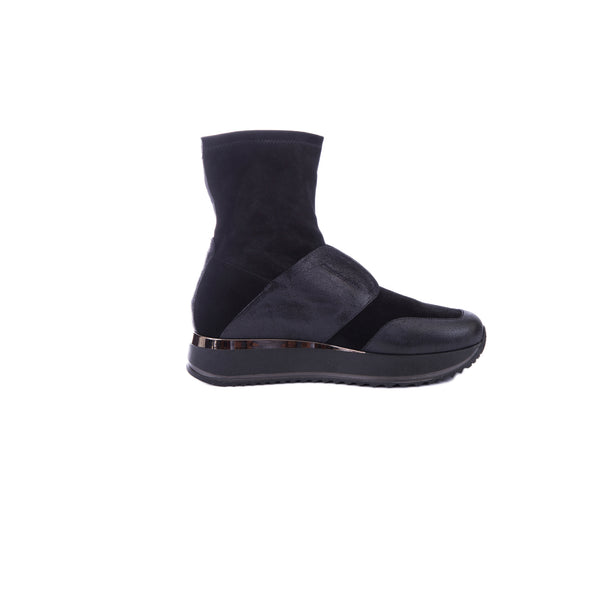 High-Top Sneaker Stellare Nero