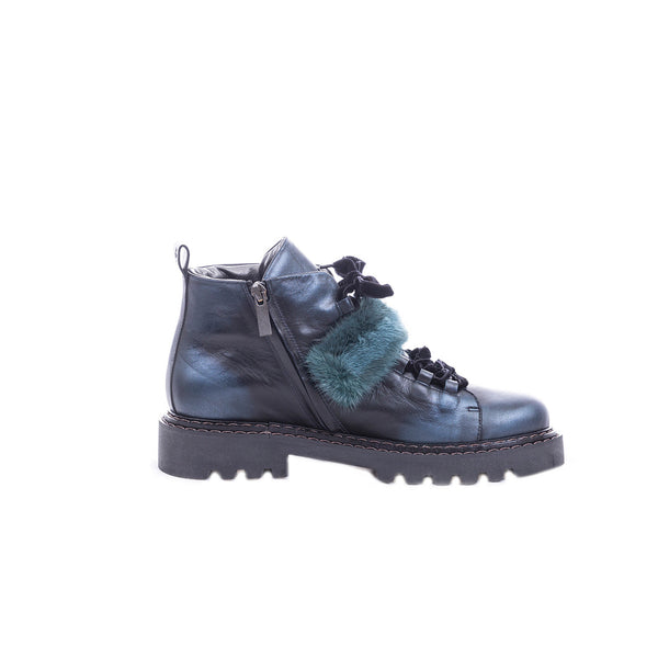 Ankle Boot Fur Metal Sport Baltico