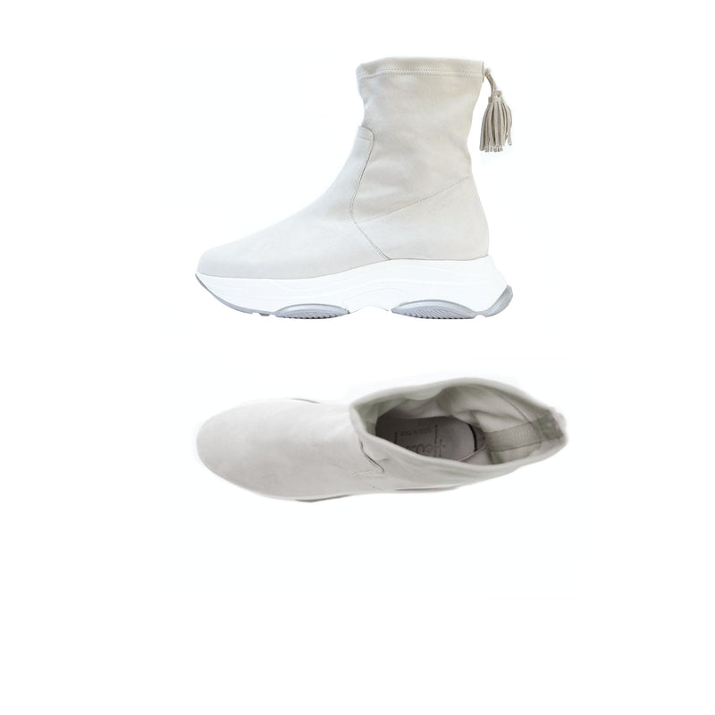 Sock High-top Sneakers Gesso