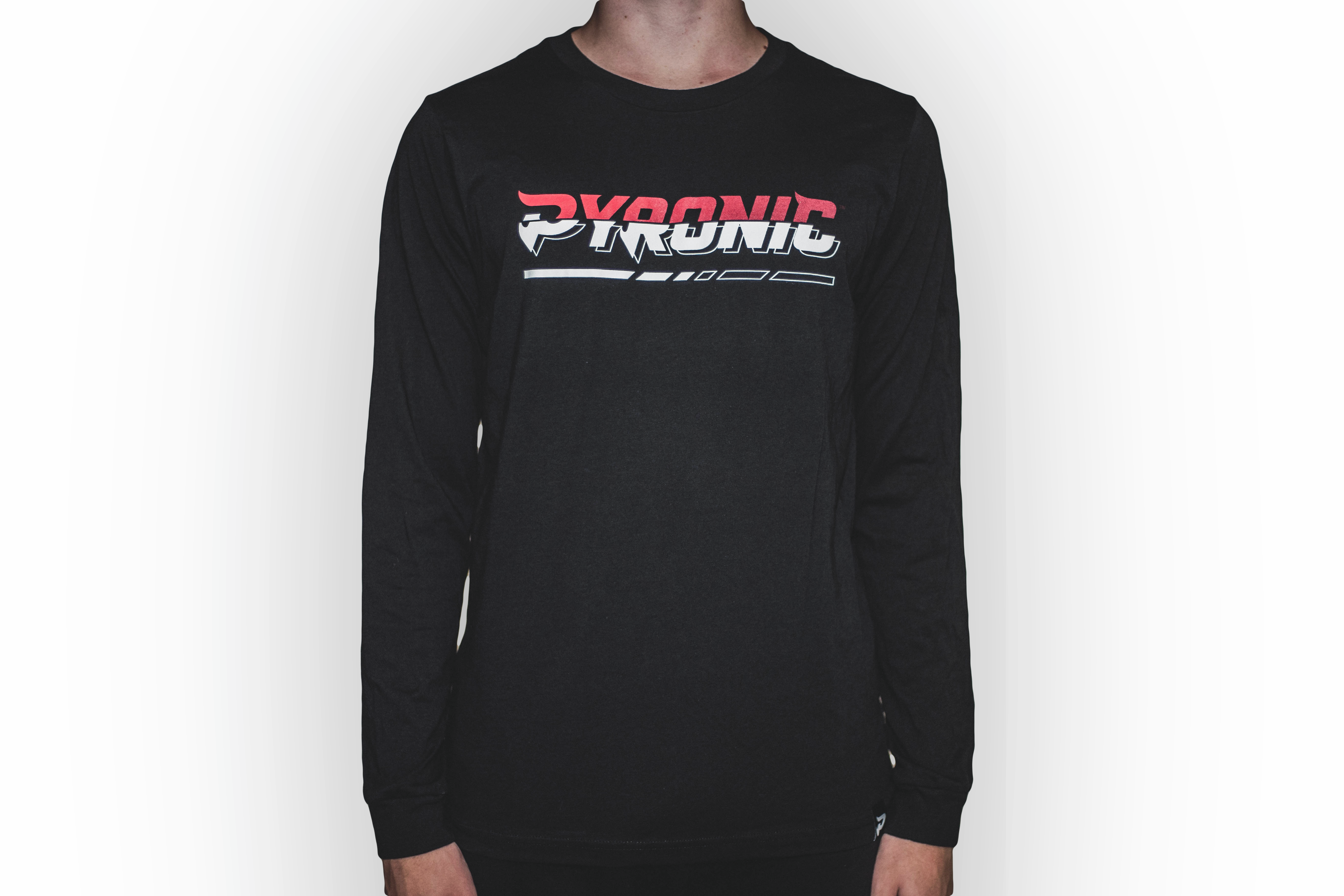 Pyronic Glitch Long Sleeve Tee