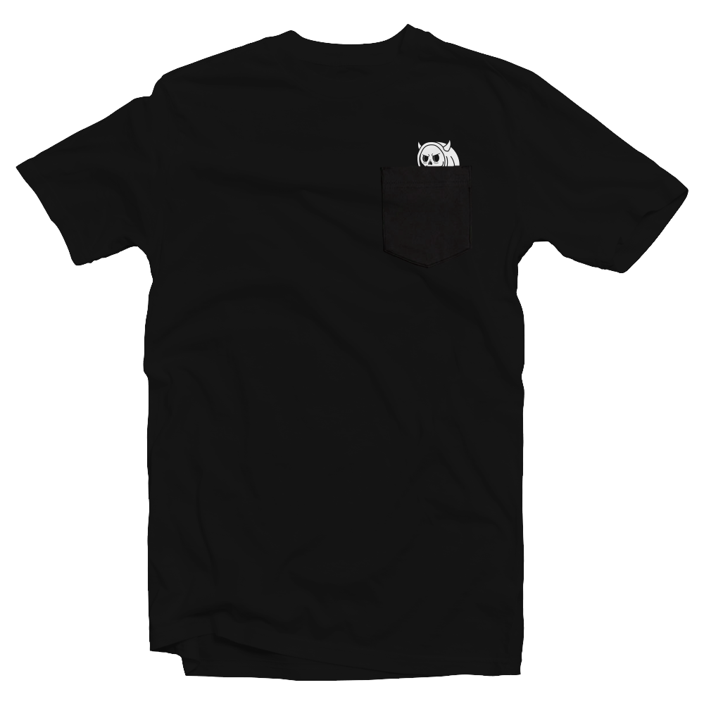 Peeking Dennis Pocket T-Shirt