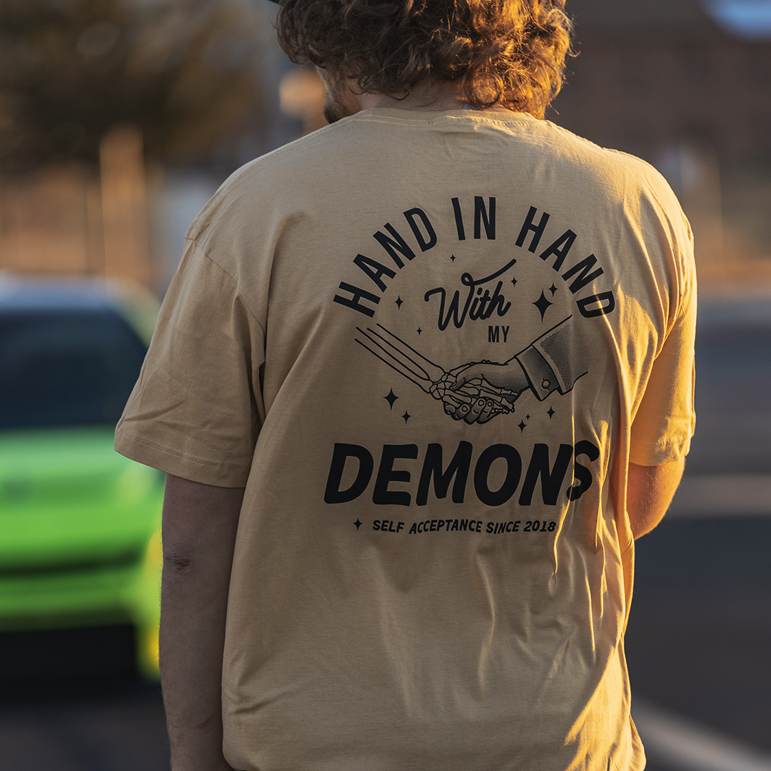 Hand In Hand With My Demons T-Shirt