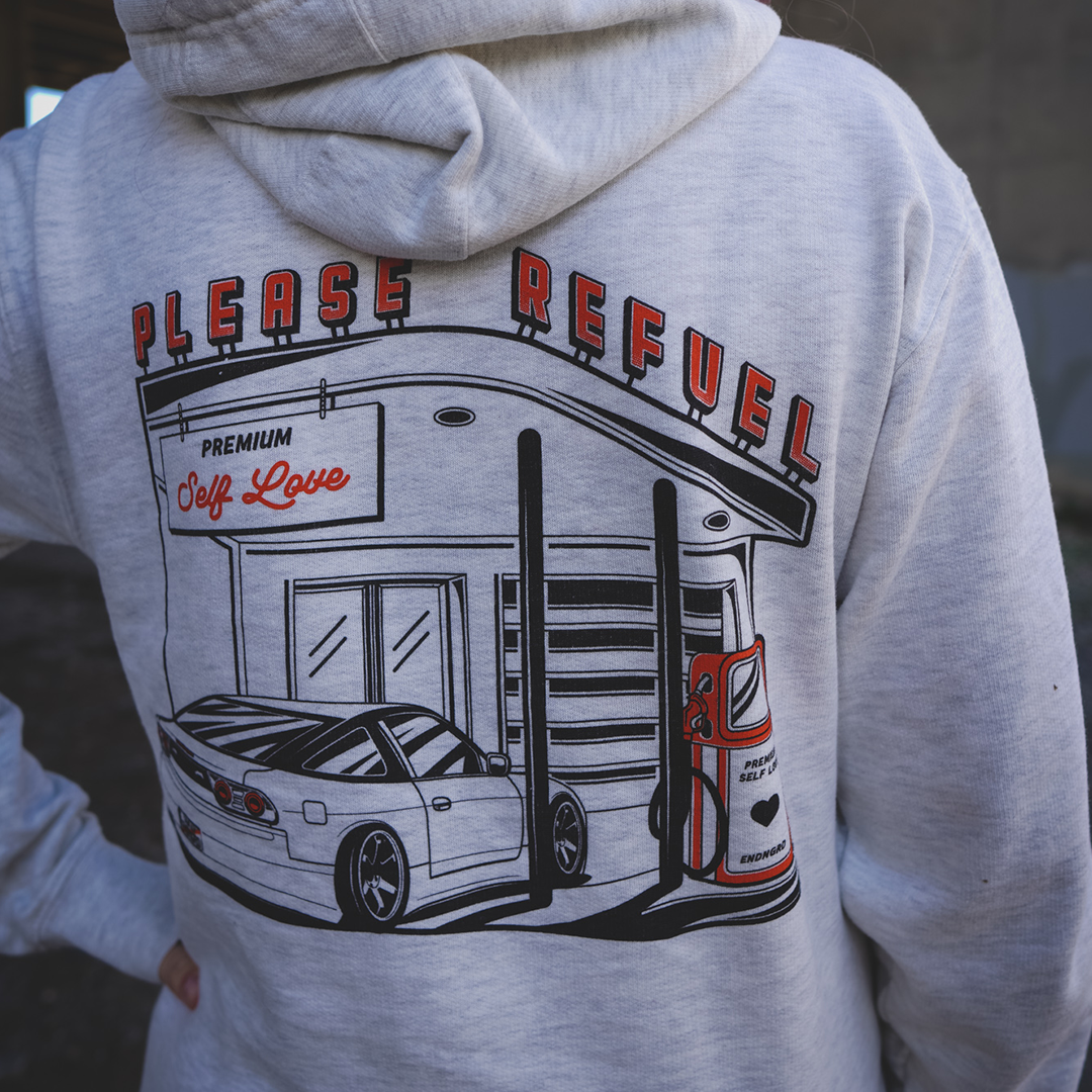 Please Refuel Self Love Hoodie