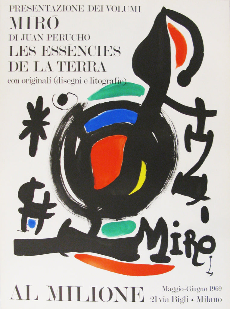 "Joan Miró ""Les essències de la terra"""" 