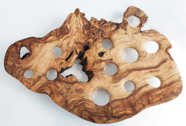 BREATHE 3  |  Olive wood fruit bowl (Big piece)