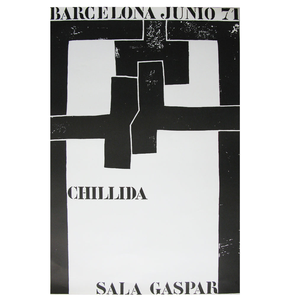 Eduardo Chillida | Original Exhibition Print