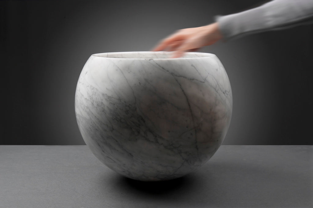 Spheric Marble Bowl