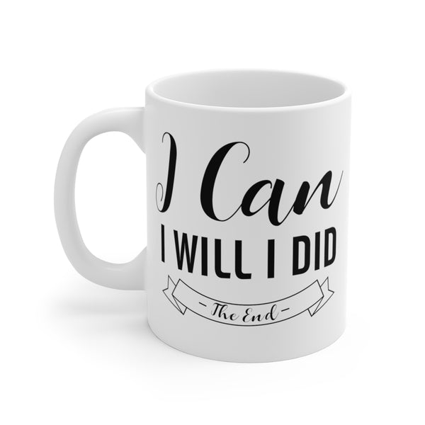 I Can...I Will