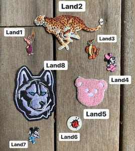 Land Animal Patches