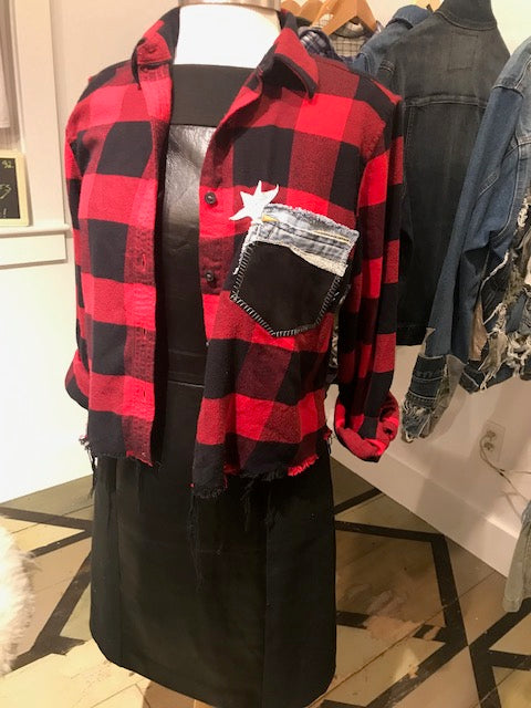 Red & Black Custom Flannel