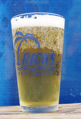 Rick's & Durty Harry's Pint Glass