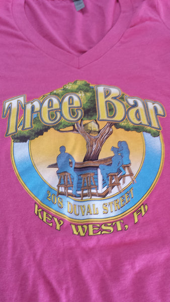 Tree Bar Ladies V neck