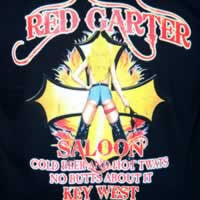 Red Garter Cold Beer Tee