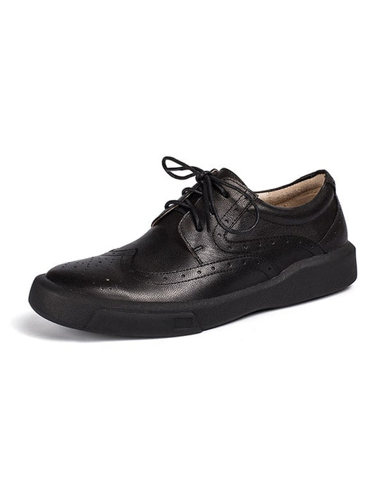 2020 Spring Autumn Brock Leather Oxford Shoes